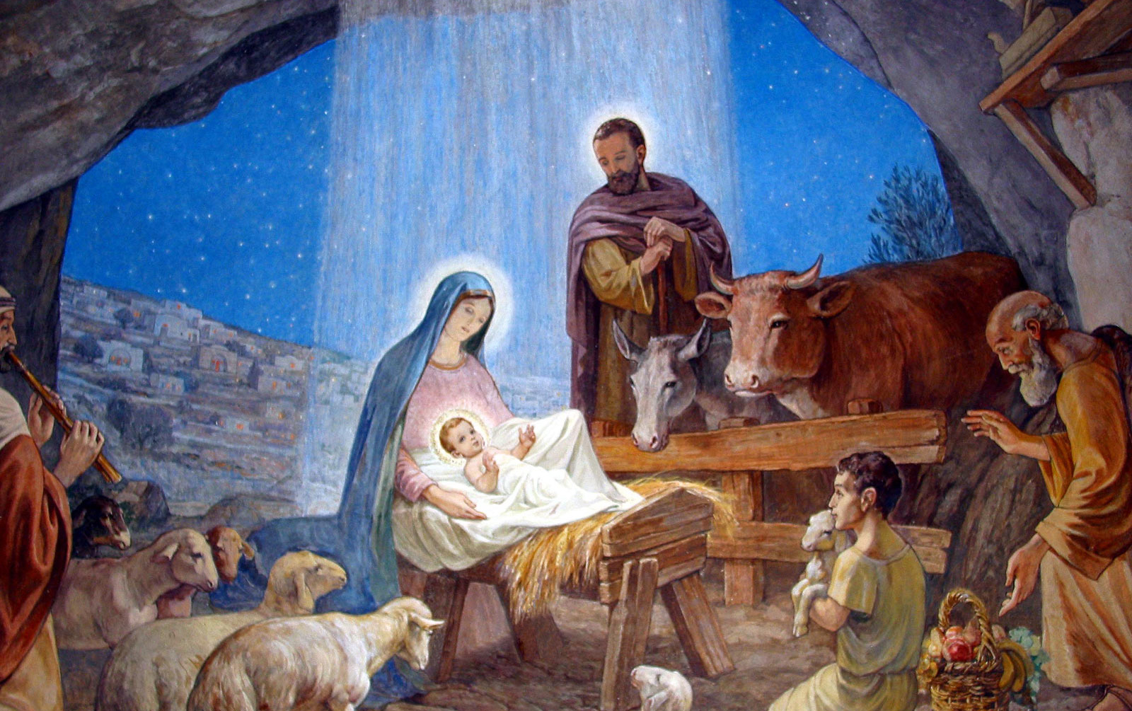 Christmas Nativity Wallpaper 3